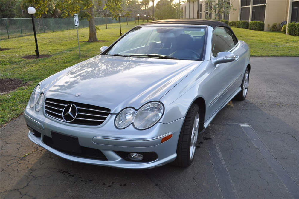2005 mercedes benz clk500 convertible 206464 for Mercedes benz clk 2005