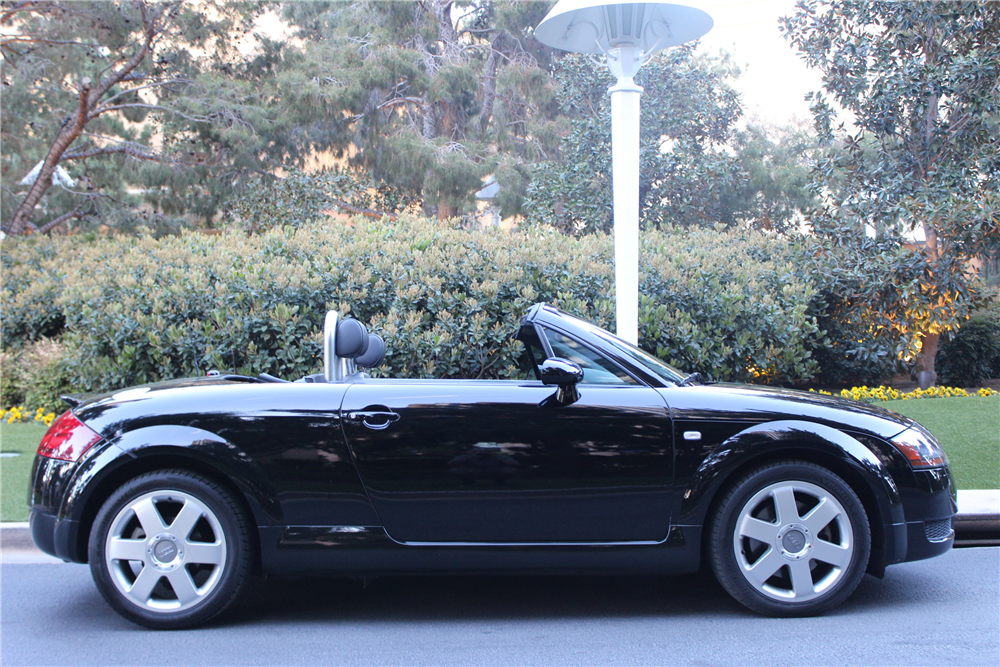 2001 audi tt convertible 206546. Black Bedroom Furniture Sets. Home Design Ideas