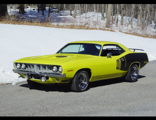 1971 PLYMOUTH BARRACUDA 2 DOOR HARDTOP -  - 20655