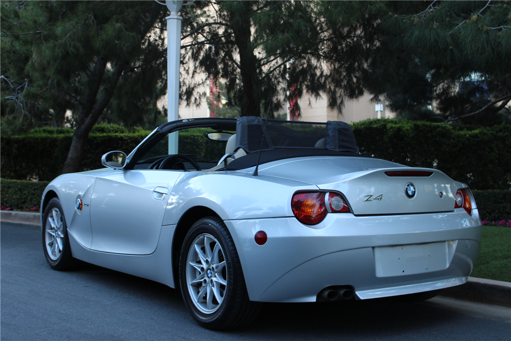 Automatic Car Credit >> 2003 BMW Z4 CONVERTIBLE - 206552