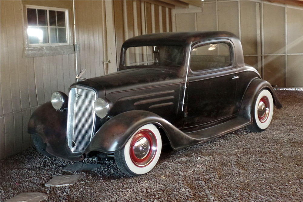1934 chevrolet 3 window coupe 206557 for 1934 chevrolet 3 window coupe