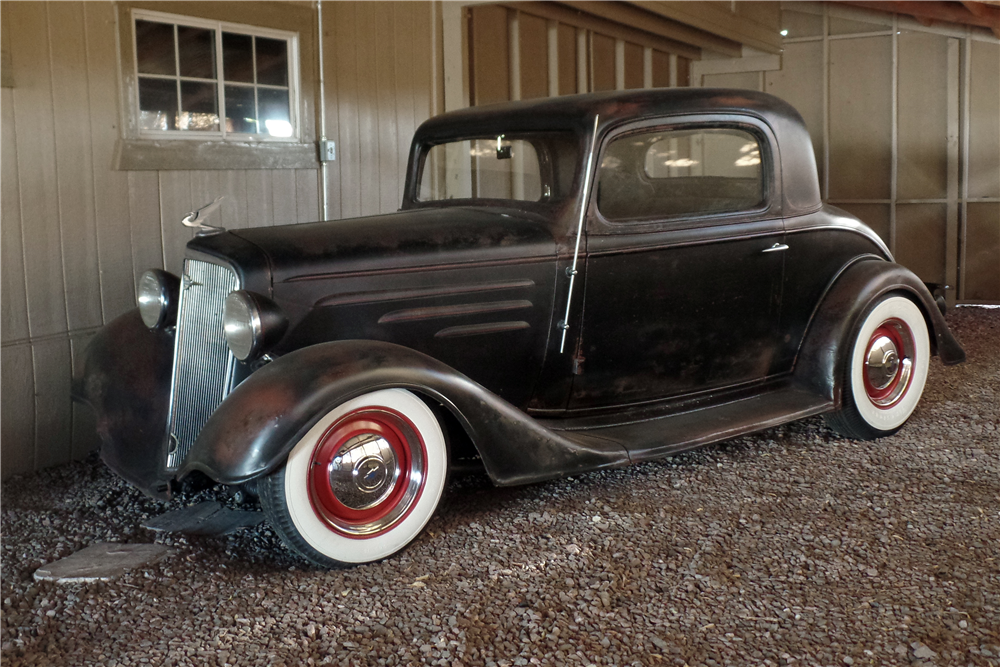 1934 chevrolet 3 window coupe 206557
