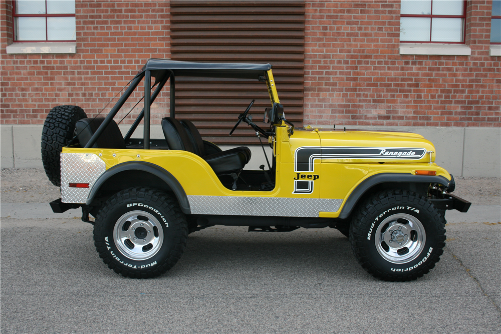 Renegade 2018 Interior >> 1974 JEEP CJ-5 SUV - 206600
