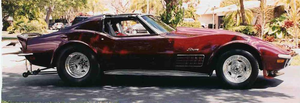 1971 CHEVROLET CORVETTE CUSTOM STINGRAY - Front 3/4 - 20665
