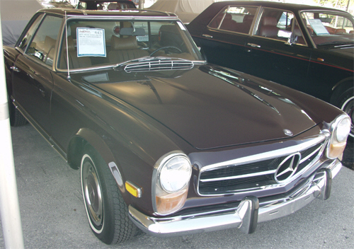 1971 MERCEDES-BENZ 280SL CONVERTIBLE - Front 3/4 - 20674