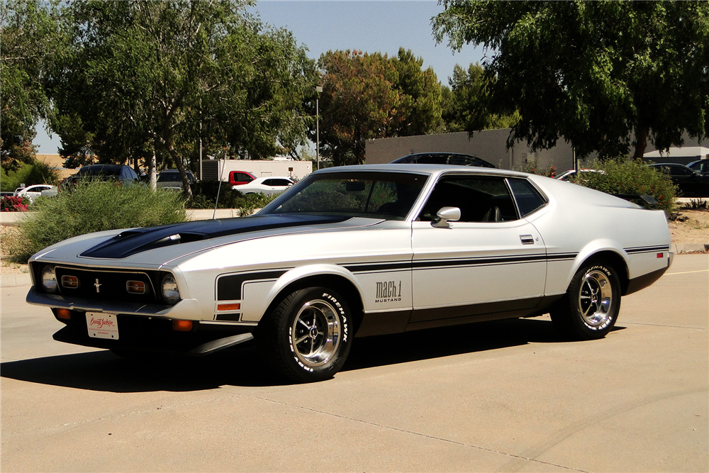 1971 FORD MUSTANG MACH 1 FASTBACK - 206754 Mustang Mach 1 Fastback 1971