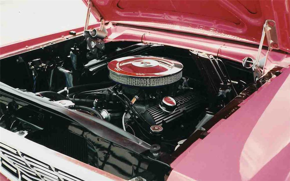 1964 FORD FALCON FUTURA CONVERTIBLE - Engine - 20677