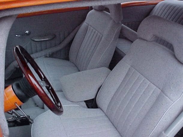 1955 CHEVROLET BEL AIR PRO-STREET - Interior - 20678