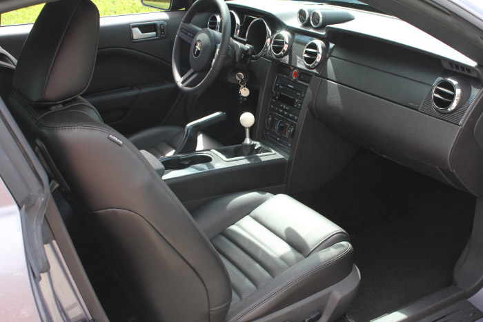 2007 FORD MUSTANG GT CUSTOM FASTBACK - Interior - 206802