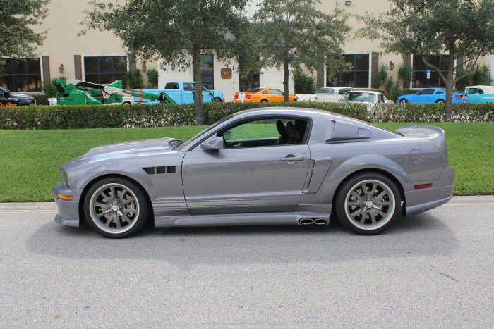 2007 FORD MUSTANG GT CUSTOM FASTBACK - Side Profile - 206802