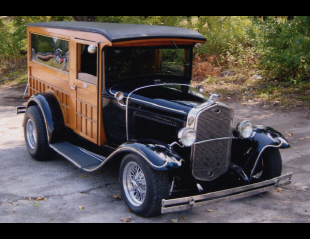 1931 FORD MODEL A CUSTOM WOODY SEDAN DELIVERY -  - 20686