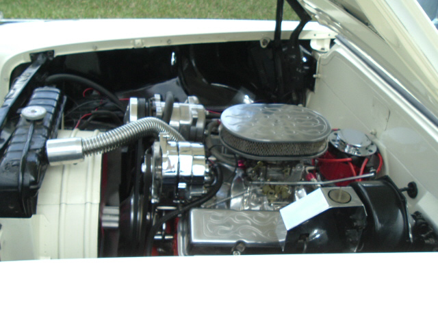 1958 CHEVROLET BEL AIR CUSTOM 2 DOOR - Engine - 20688