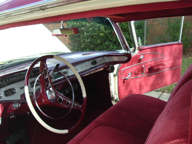 1958 CHEVROLET BEL AIR CUSTOM 2 DOOR - Interior - 20688