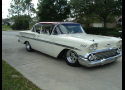 1958 CHEVROLET BEL AIR CUSTOM 2 DOOR -  - 20688