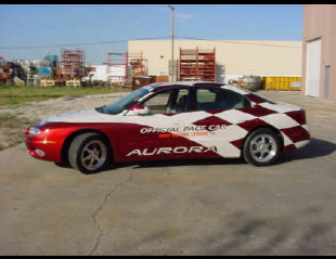 2001 OLDSMOBILE AURORA IRL PACE CAR FROM GM COLL -  - 20695