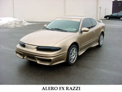 1999 OLDSMOBILE ALERO FX RAZZI FROM - Front 3/4 - 20698