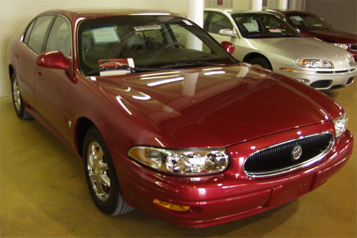 2000 BUICK LE SABRE SHOW VEHICLE FROM - Front 3/4 - 20700