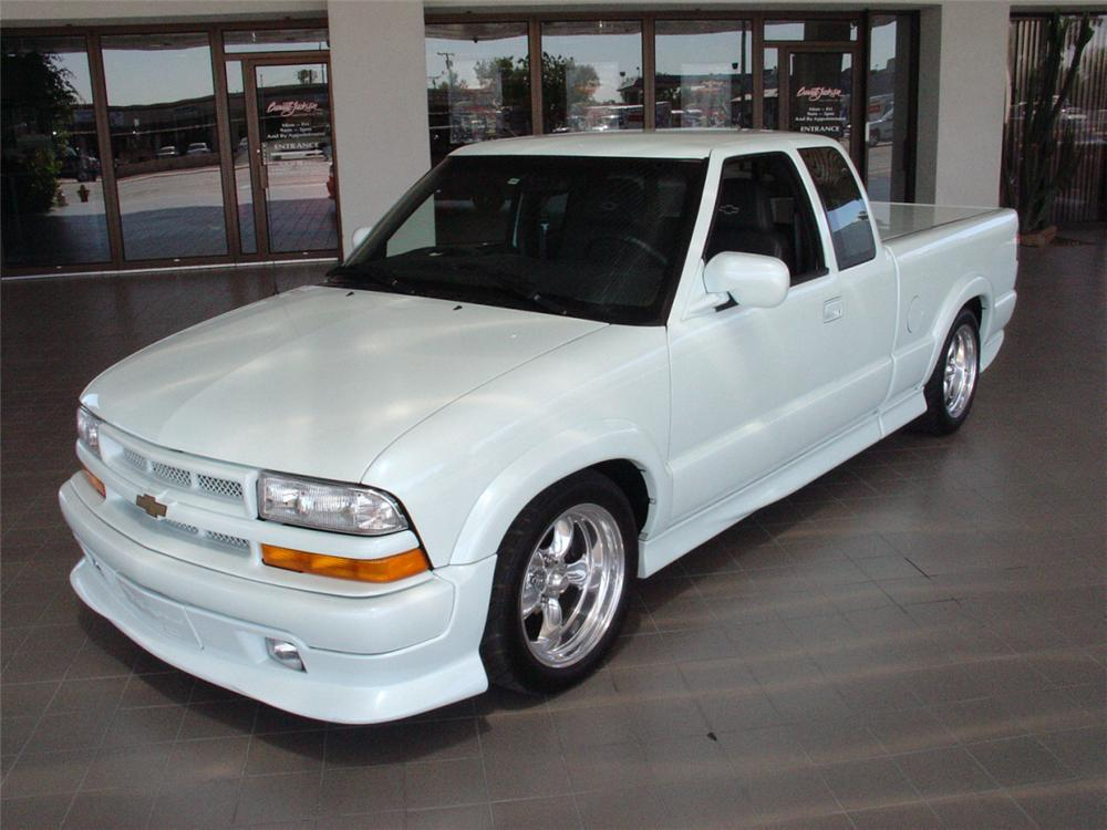 Front Web on Chevy S10 4 3 Vortec Engine