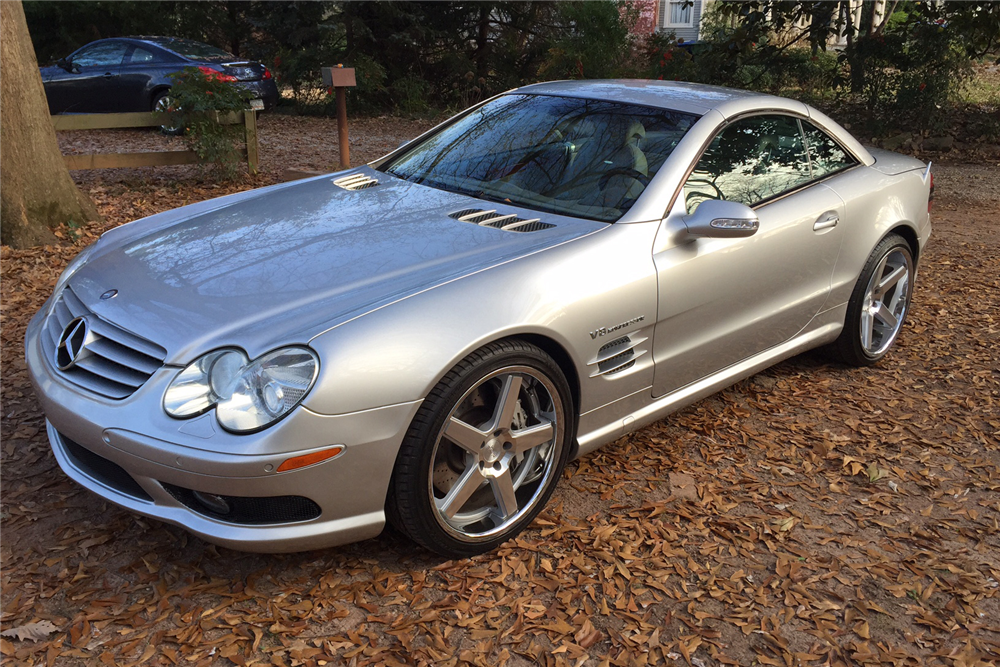 2003 mercedes benz sl55 amg 207150 for 2003 mercedes benz sl55