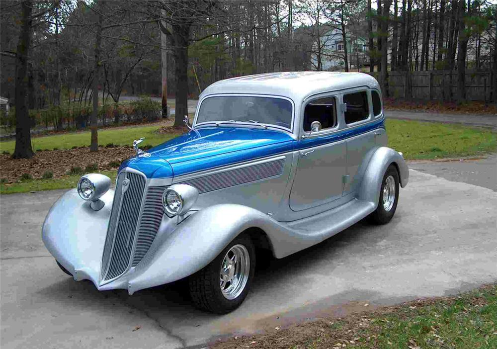 1935 studebaker commander 4 door
