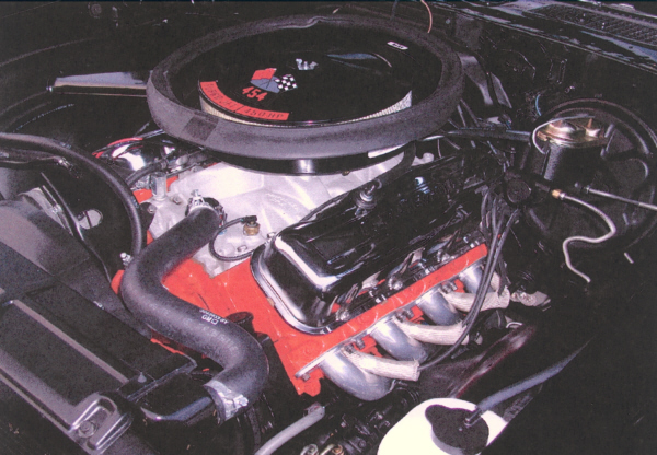 1970 CHEVROLET CHEVELLE LS6 COUPE - Engine - 20735