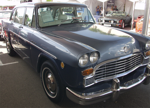1973 CHECKER MARATHON 4 DOOR SEDAN - Front 3/4 - 20740