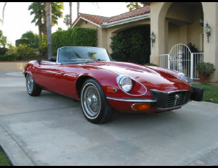 1973 JAGUAR XKE ROADSTER -  - 20741