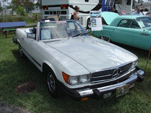 1979 MERCEDES-BENZ 450SL ROADSTER - Front 3/4 - 20753