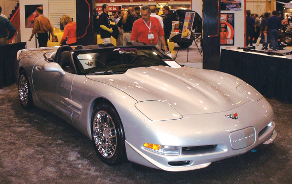 2001 CHEVROLET CORVETTE CUSTOM CONVERTIBLE - Front 3/4 - 20754