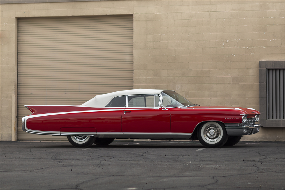 1960 CADILLAC SERIES 62 CONVERTIBLE207654