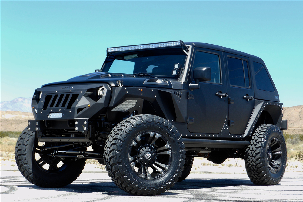 Jeep Wrangler Unlimited Custom Suv