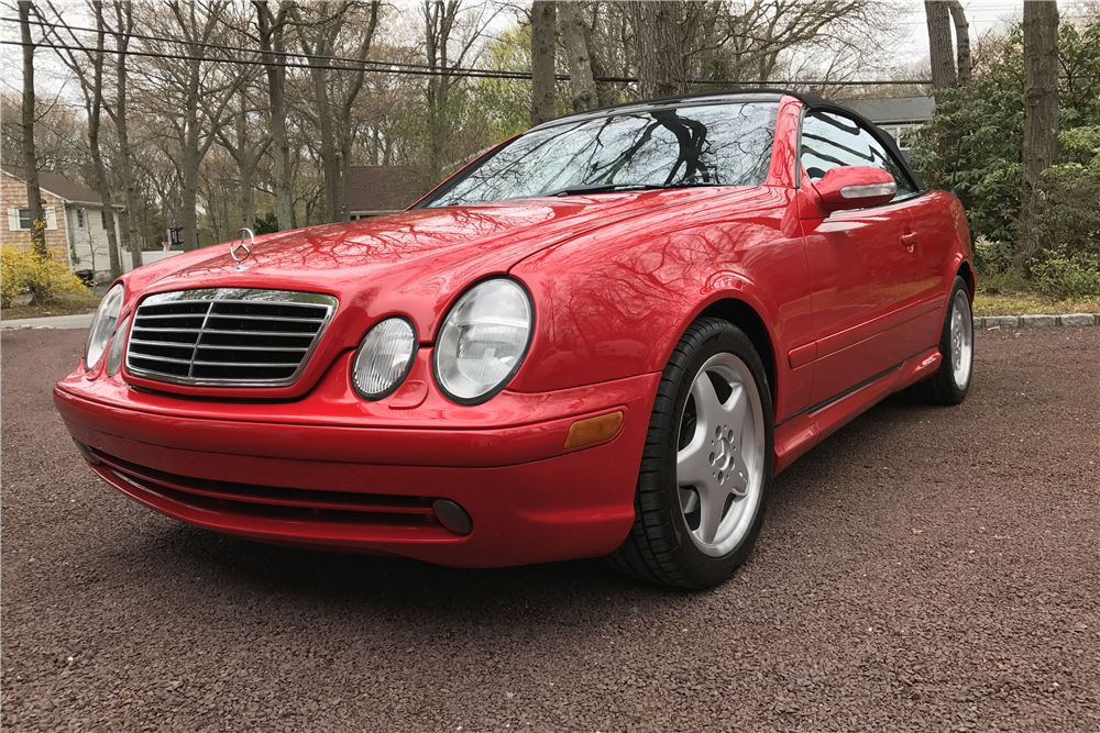 2001 mercedes benz clk430 convertible 207665 for 2001 mercedes benz clk430