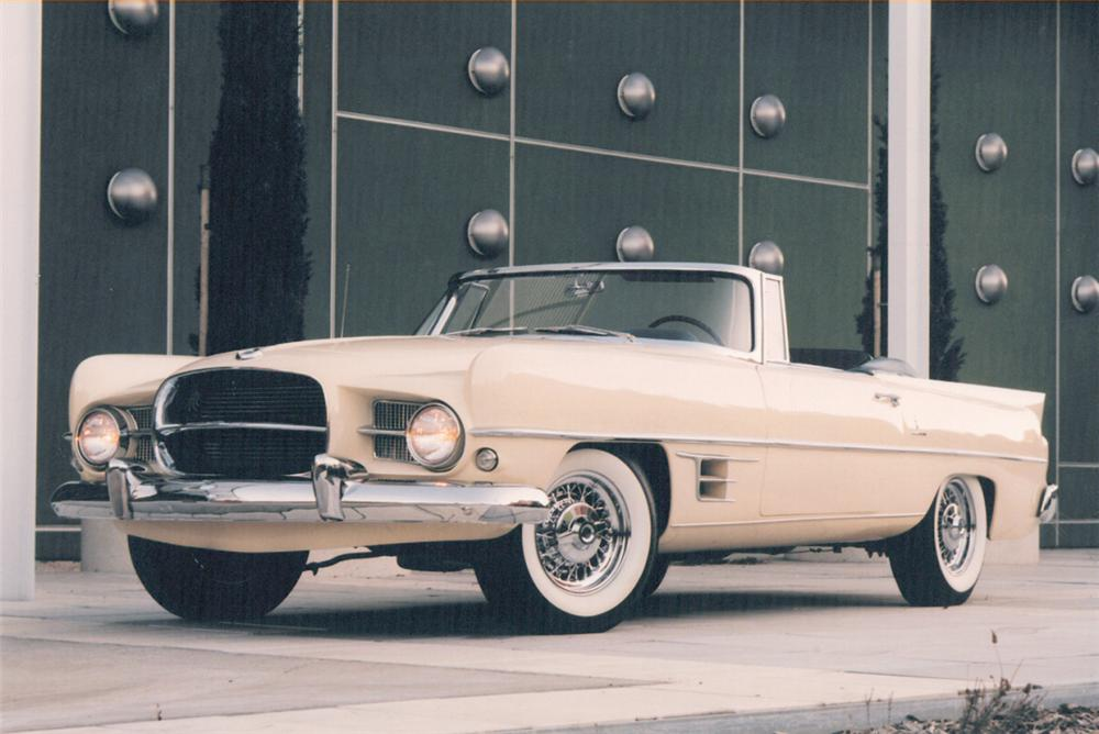 1957 DUAL GHIA CONVERTIBLE - Front 3/4 - 20782