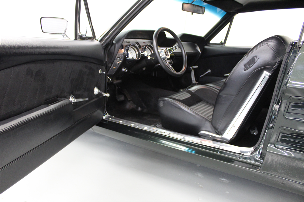 1967 ford mustang custom coupe interior 207823