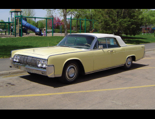 1964 LINCOLN CONTINENTAL CONVERTIBLE -  - 20787
