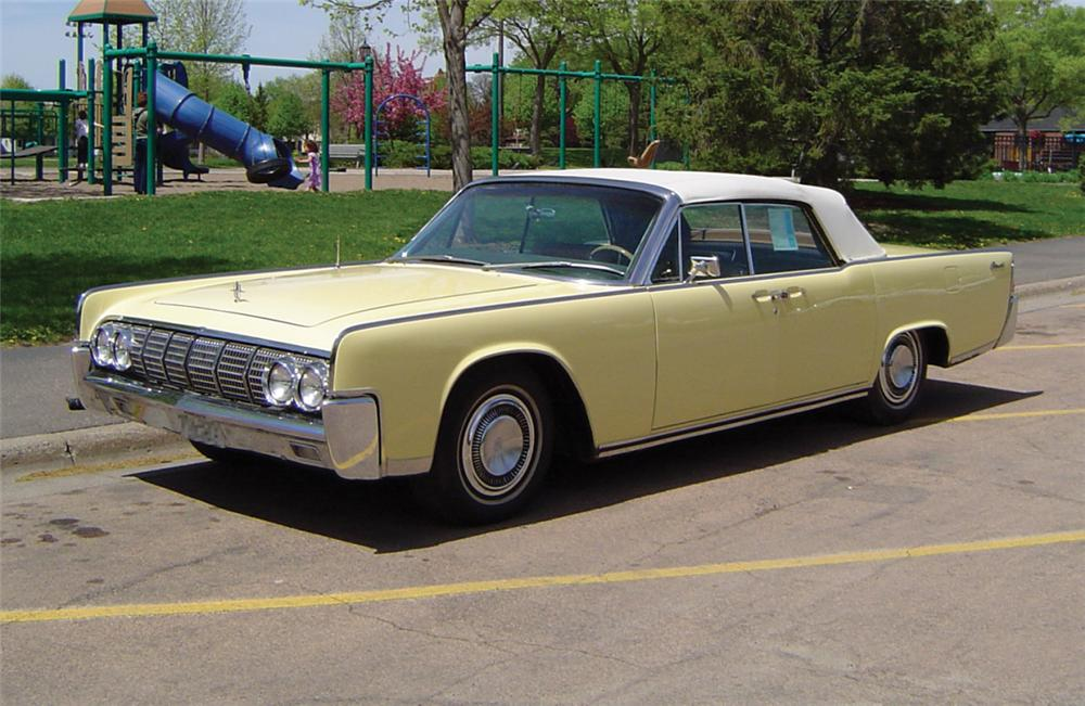 1964 lincoln continental convertible 20787. Black Bedroom Furniture Sets. Home Design Ideas