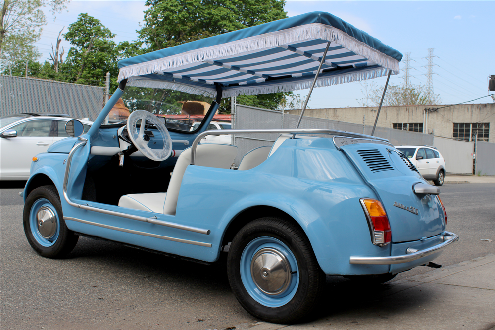 1971 FIAT JOLLY CUSTOM CONVERTIBLE - Rear 3/4 - 207895