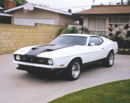 1971 FORD MUSTANG MACH 1 FASTBACK - Front 3/4 - 20791