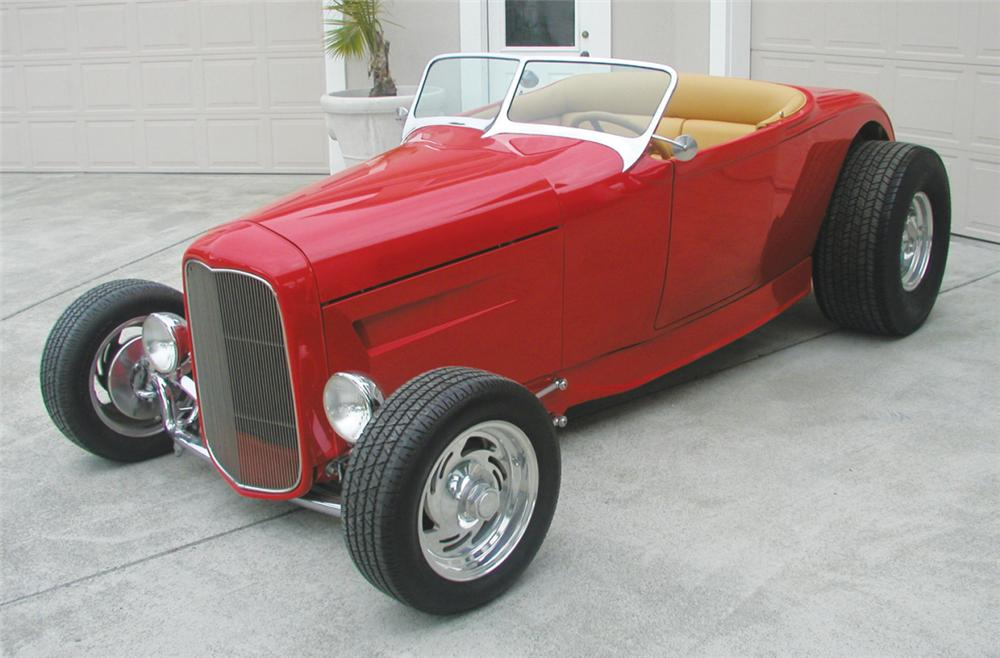 1929 FORD HI-BOY ROADSTER HOT ROD - Front 3/4 - 20799