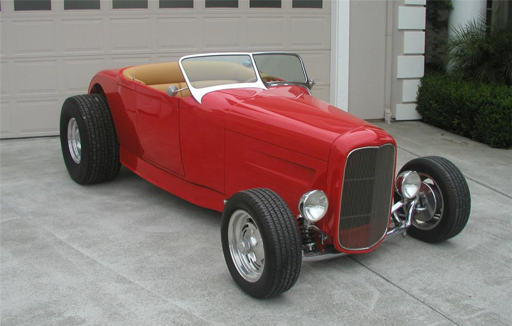 1929 FORD HI-BOY ROADSTER HOT ROD - Side Profile - 20799