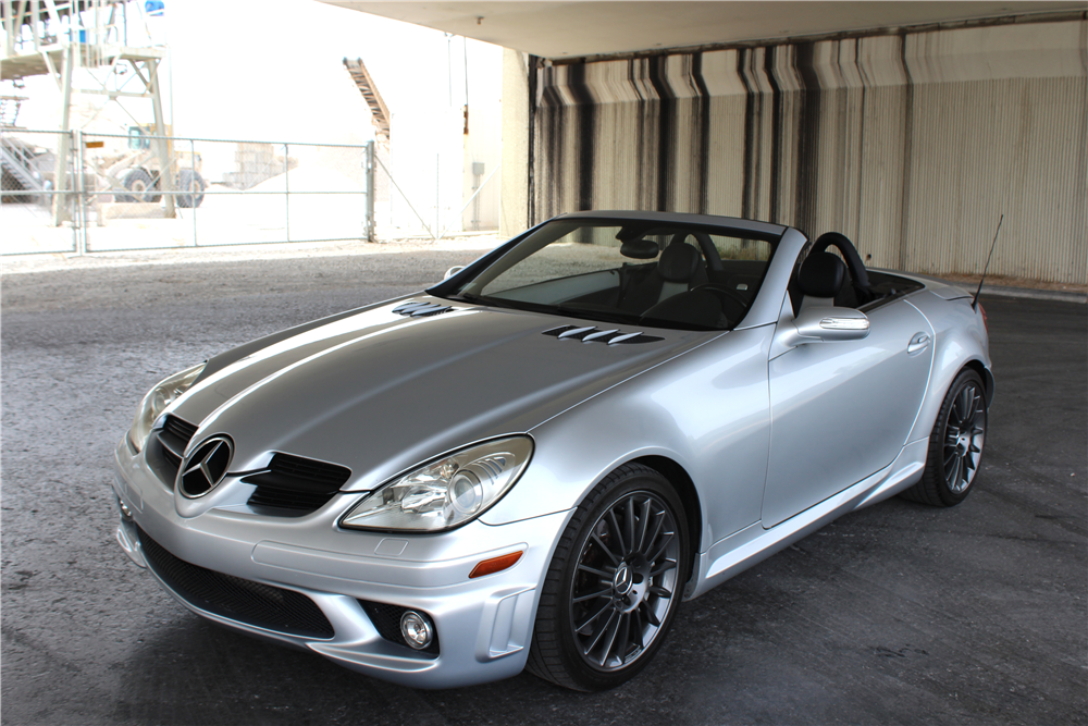 2006 mercedes benz slk 55 amg convertible 207997. Black Bedroom Furniture Sets. Home Design Ideas