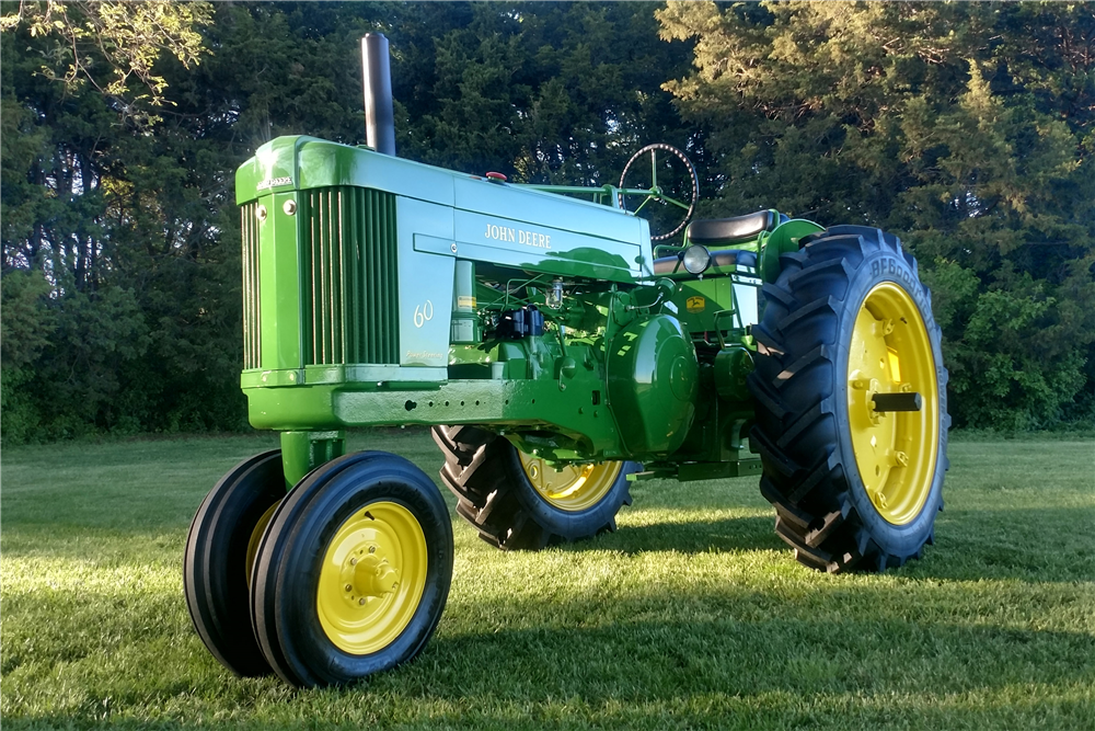 John Deere 60 Engine : John deere row crop