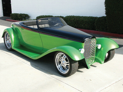 1932 FORD BOYDSTER STREET ROD - Front 3/4 - 20813