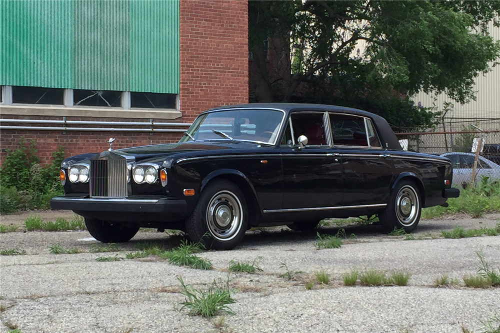 1976 rolls royce silver shadow 208133. Black Bedroom Furniture Sets. Home Design Ideas