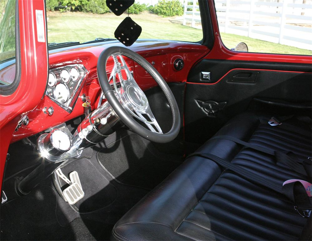 1957 CHEVROLET 3100 CUSTOM PICKUP - 20819