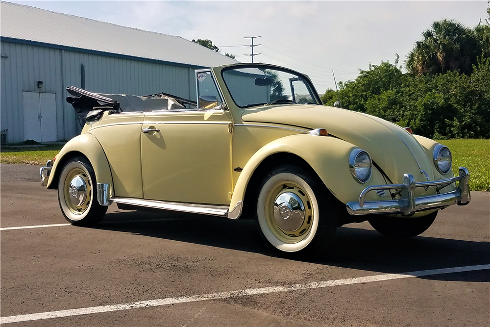 1967 volkswagen beetle convertible 208209 for Credit auto garage volkswagen