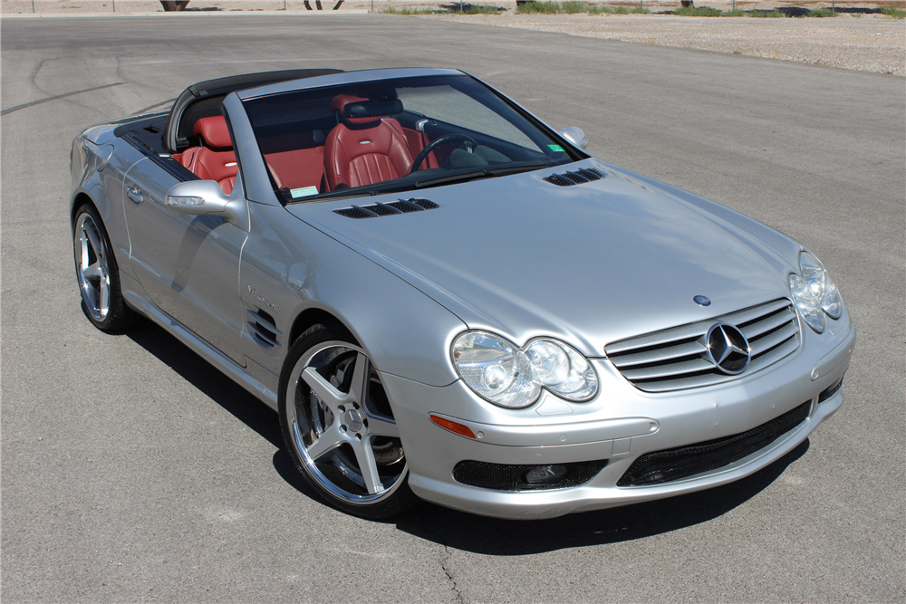 2003 mercedes benz sl55 amg convertible. Black Bedroom Furniture Sets. Home Design Ideas