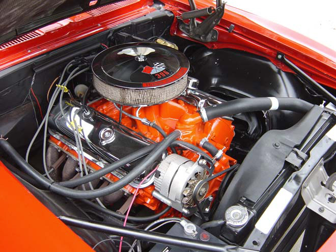 1968 CHEVROLET CAMARO COUPE - Engine - 20828