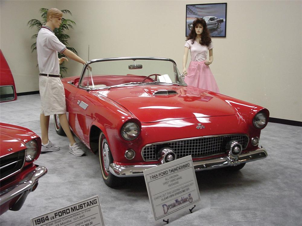 1955 FORD THUNDERBIRD CONVERTIBLE - Front 3/4 - 20833