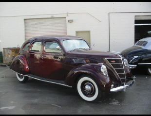 1937 LINCOLN ZEPHYR 4 DOOR SEDAN -  - 20842